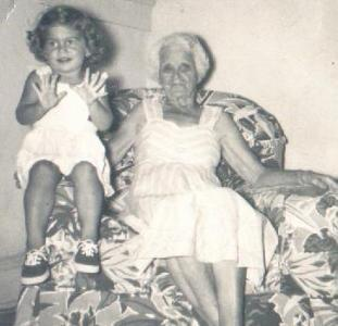 Barbara & great-grandmother