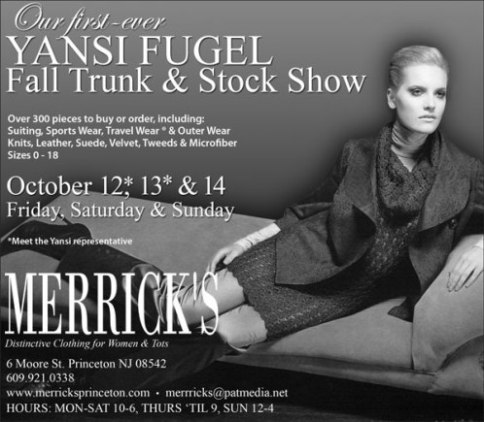 Yansi Fugel Fall 2007 Trunk Show